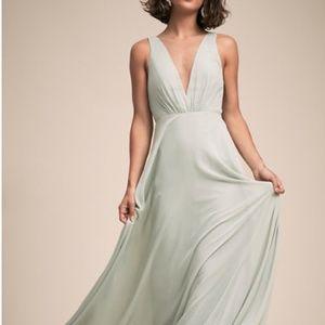 BHLDN Jenny Yoo Ryan Dress Morning Mist